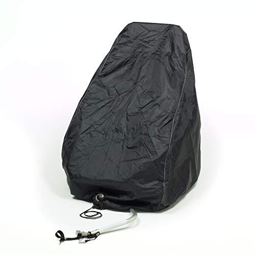 RELAWI Universal Fahrradanhänger Abdeckung als Regenschutz und Sonnenschutz für Thule, Croozer Qeridoo,Hundeanhänger oder Kinderwagen -Perfektes Zubehör als Faltgarage und Regenverdeck