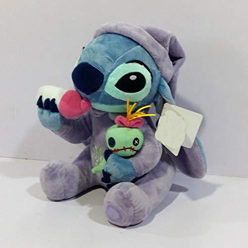 zjq Kuscheltier Stitch Plüschtiere Plüschtiere Mit Kuscheltierpuppen 26 cm Kinder Stofftiere Geschenk