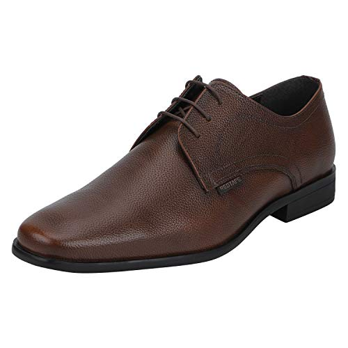 Red Tape Men RTE1403 Tan Leather Formal Shoes-10 UK/India (44 EU) (RTE1403-10)