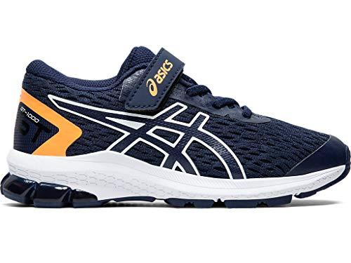 ASICS Kid's GT-1000 9 PS Running Shoes, K13, Peacoat/White