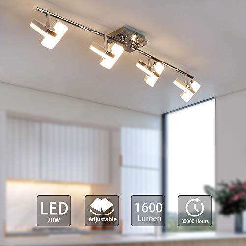 Design RGB DEL mur lampe éclairage chrome mobiles Big Light