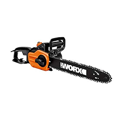 WORX WG304. Electric Chainsaw with Auto-Tension, Chain Brake