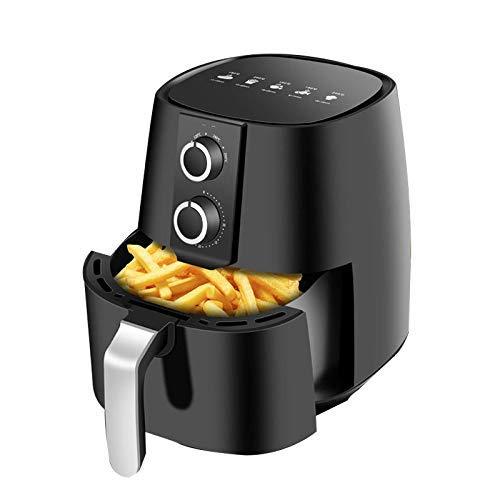 Four de friteuse Air, 4,2 peluche d'air sans huile en sain, friteuse d'air de légumes électriques Fonctionnement facile avec des commandes simples de boutons Xping