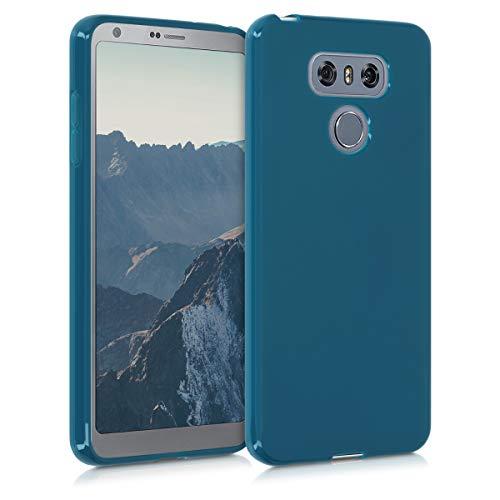 kwmobile Hülle kompatibel mit LG G6 - Hülle Handyhülle - Handy Hülle in Petrol matt