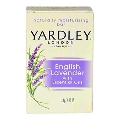 Yardley Bar Soap - English Lavender with Essential Oils, 4.25 oz Bar by Yardley