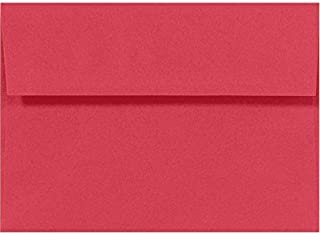 A10 Invitation Envelopes (6 x 9 1/2) - Holiday Red (50 Qty) | Perfect for Invitations, Greeting Cards, Thank You Cards, Announcements and so Much More! | 67153-50