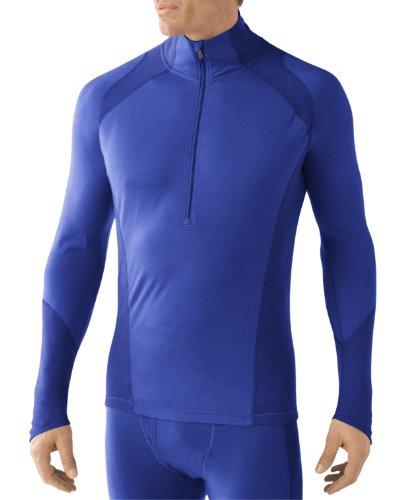 Smartwool NTS SL629 Vêtement léger zippé pour Homme Bleu Marine Taille S