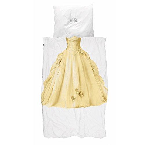 Snurk Bettwäsche Princess Yellow 135 x 200 cm 100% Baumwolle