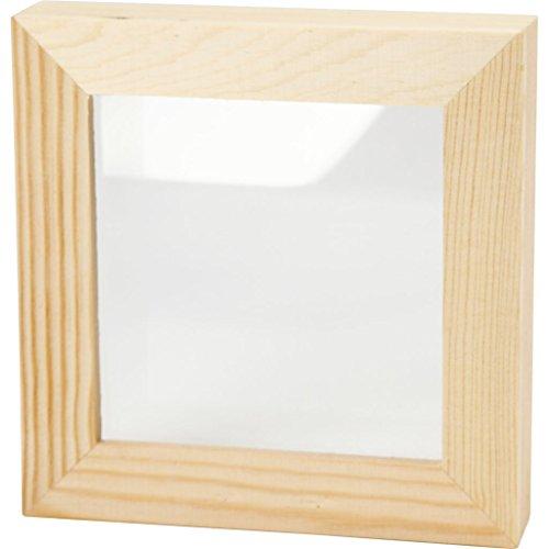 Creativ 12.3 x 12.3 cm 1-Piece Wooden 3D Frame