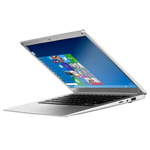 Lopbinte 14.1 Hd Lightweight and Ultra-Thin 2+32G Lapbook Laptop Intel Z8350 64-Bit Quad Core 1.92Ghz Windows 10 2Mp Camera(White) Uk Plug