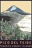 Leinwand Poster Bilder Pico Del Teide Teneriffa Kanarische
