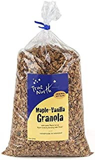 Bulk Maple Vanilla Granola, All Natural, Low Carb and Nut Free by True North Granola (10 LB)