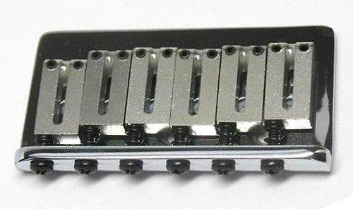 Fender USA American Standard Chrome Hardtail Bridge for Electric Guitar