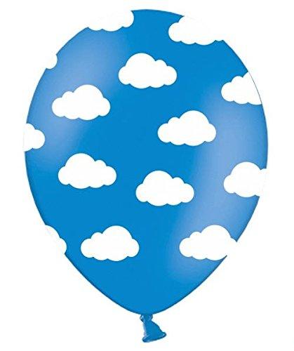 Lot de 6 ballons gonflables Motif de nuages