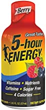 5 Hour Energy, Berry, 6 Count