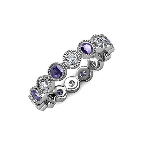 Diamond Iolite Jewelry Set - 3