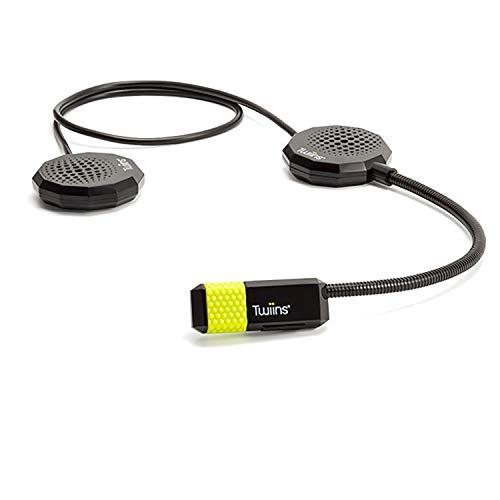 Twiins HF3INTERCOM Kit Intercom Bluetooth Moto/Scooter – Handsfree 3.0 Stereo, 1