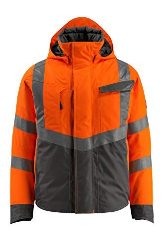 Mascot Hastings Warnschutz Winterjacke 15535-231 - Safe Supreme Herren 3XL Hi-Vis Orange/Dunkelanthrazit