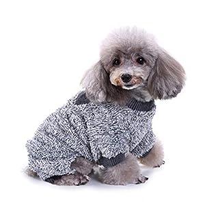 Pet Dog JumpSuit, Automne Hiver Costumes Costumes maillots Tenue Pyjama pour animal domestique Chien chaud JumpSuit