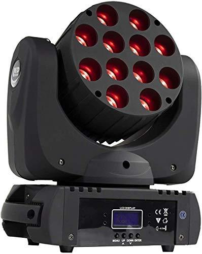 Home Equipo Downlight LED 6 en 1 Iluminación de cabeza móvil Luces...
