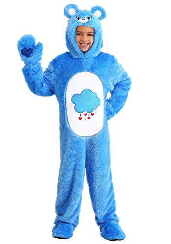 Child Care Bear Costume Classic Care Bear Grumpy Bear Onesie for Kids Small