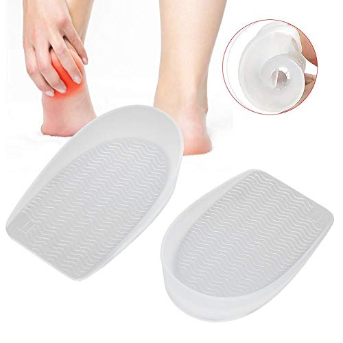 Reusable Foot Sticker, Heel Pads, for Women and Men's Shoes Shoe Comfort Work Boot,Walking,Running and Casual Shoes Loose Shoes, Relieve Foot Pain(M)