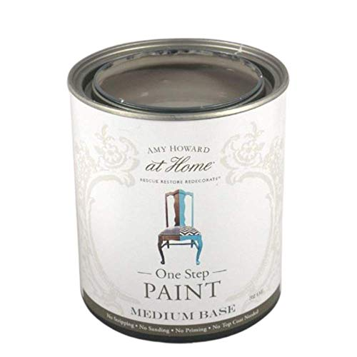 Amy Howard Home   One-Step Paint   Atelier   Chalk Finish Paint   Eco-Friendly   No Stripping, Sanding or Priming   Multi-Surface Furniture & Cabinet Paint