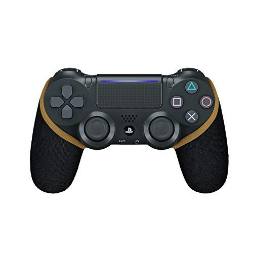 SMART GRIP PS4 Controller Hülle, Anti-Sweat/Anti-Rutsch PS4 Controller Grip, Waschbar, Playstation Controller Individualisieren, PS4 Controller Zubehör (Gold)