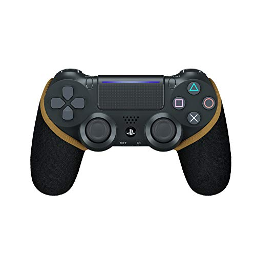 Smartgrip - Schwarz/Gold - Der ultimative PS4 Controller Überzug/Hülle mit patentierter Technologie - Made in Germany