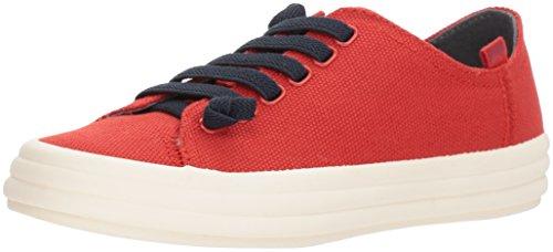 CAMPER Hoops K200604, Zapatillas Deportivas. Mujer, Rojo, 42 EU