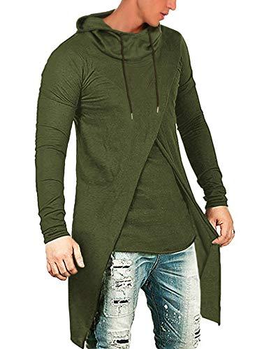COOFANDY Men's Slim Fit Hoodie Lightweight Hooded Sweatshirt Casual...