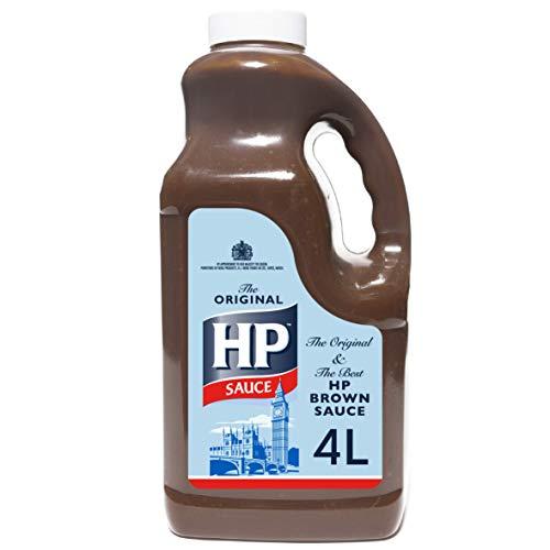 HP Original Sauce 4600g (4,0 Liter) Catering - die einzige echte und ursprüngliche braune Sauce
