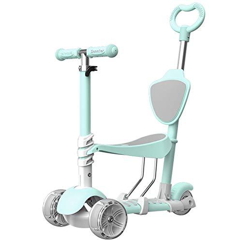 Changsheng Kinderroller 3 Räder können auf der Schaukel Auto Baby mit Blitzrad sitzen,geeignet für Kinder von...