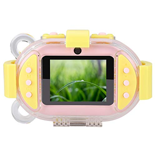 Lowest Prices! ASHATA Kids Digital Camera 2.4 inch Screen Waterproof Children's Camera Double Lens ...