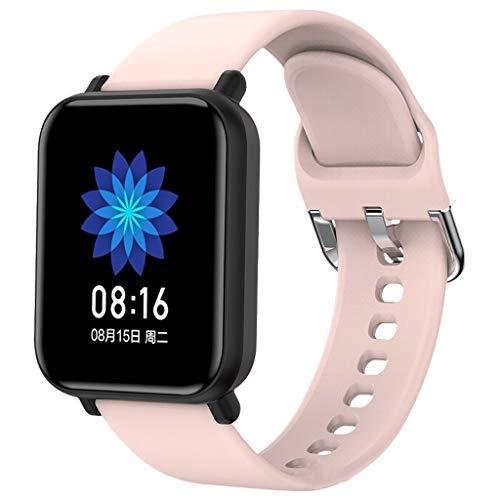 Smartwatch Relojes inteligentes, Guardia Completa de tecla inteligente reloj de las mujeres de los hombres Deportes Electrónica Smart Clock for Android IOS rastreador de ejercicios Deporte Bluetooth S