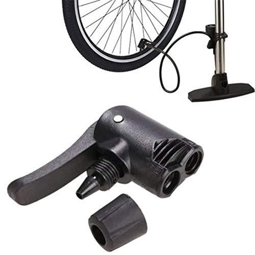 Enjoyall Ventilpumpe Adapter, Universal Dual Head Luftpumpe Adapter Reifenventilpumpe Adapter für Fahrradschlauch Presta