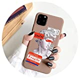 for iPhone 12 6S 7 8 Plus Case Art Abstract Painted for iPhone 11 Pro Max XR XS Se 2020 Silicone...