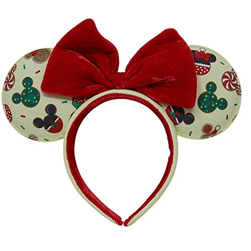 Diadema orejas Christmas Cookies Mickey and Minnie Disney Loungefly