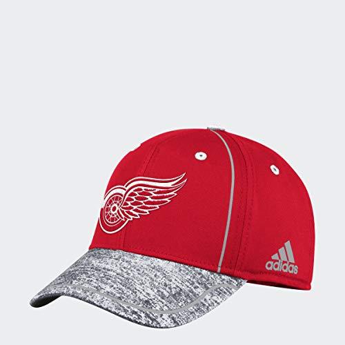 adidas Gorras Detroit Red Wings Alpha Red/Grey Flexfit