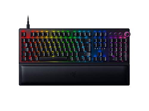 Razer BlackWidow V3 Pro (Green Switch) - Wireless Premium Mechanical Full-Size Gaming Keyboard (Kabellose Tastatur mit RGB Chroma Beleuchtung) QWERTZ | DE-Layout