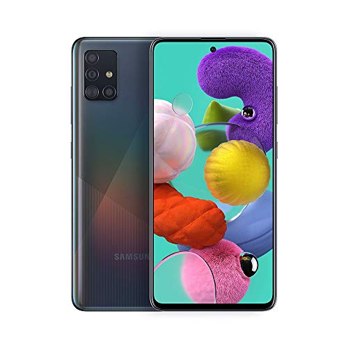 Samsung Galaxy A51 A515F 128GB DUOS GSM Unlocked Phone w/Quad Camera 48 MP + 12 MP + 5 MP + 5 MP (International Variant/US Compatible LTE) - Prism Crush Black. Buy it now for 282.00