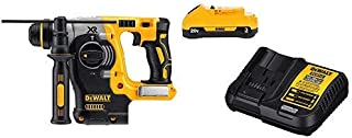 DEWALT DCH273B  20v Max Brushless SDS Rotary Hammer  (Tool Only) with DCB230C 20V Battery Pack