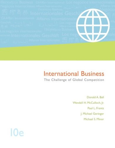 Download International Business: The Challenge of Global Competition, with CESIM and OLC access card 0073105767