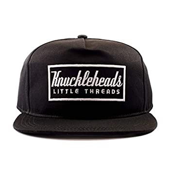 Knuckleheads Clothing Baby Boy Infant Trucker Sun Hat Toddler Mesh Baseball Cap Black Knuckleheads M 53 cm 2 to 5 Years