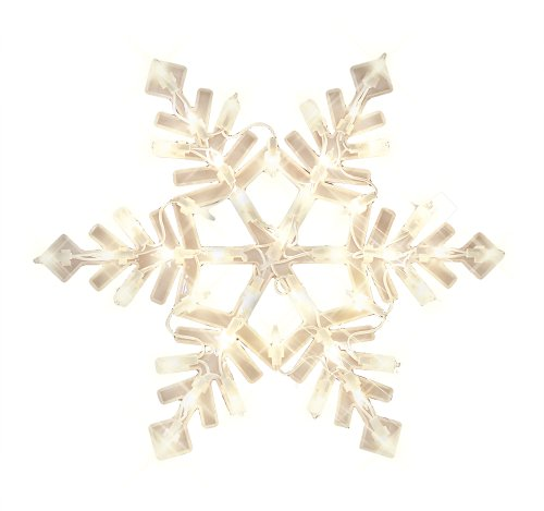 Impact Innovations Christmas Lighted Window Decoration, Snowflake (94999D)