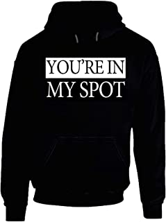 You're in My Spot Funny Sheldon Cooper Big Bang Graphic Hoodie.