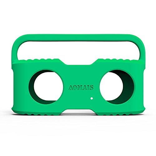 AOMAIS Bluetooth Speakers Sling Cover for AOMAIS Sport II and Sport II+ Waterproof Portable Speakers (Green)