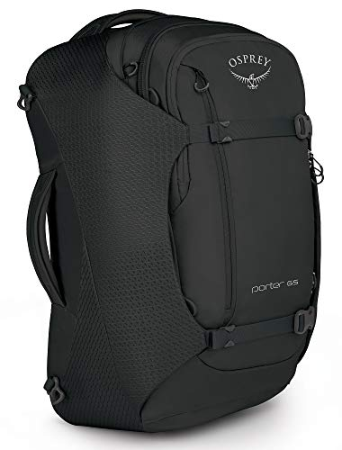 Osprey Packs Osprey Packs Porter 65 Travel Backpack, Black, One Size, Black, One Size