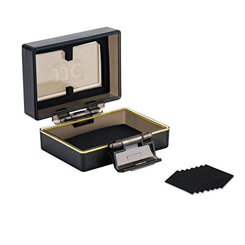 JJC Multifunktions-Batterien- und Speicherkartentasche 1 x Universal Case (Fits SD Cards) 1 x Case