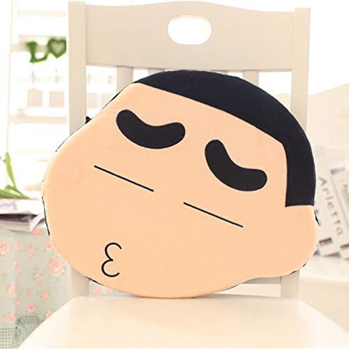 Pluchen Speelgoed Crayon Shin-chan Cartoon Pluche Kussen Student Kind Eetkamerstoel Kussen-kus _42x36cm
